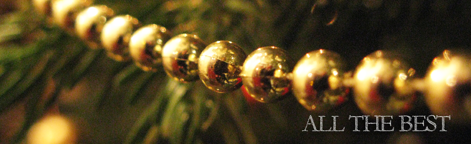 Picture of festive beads the Hideaway in Windermere