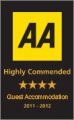 AA Highly Commended Restaurant with Rooms