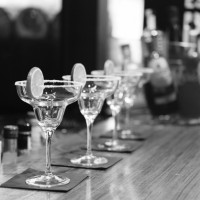 Picture of some cocktail glasses