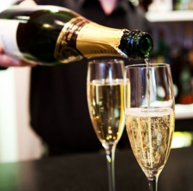 Champagne luxury Windermere hotel Lake District