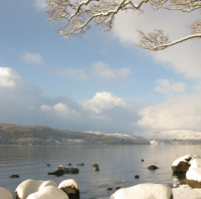 Winter at Lake Windermere