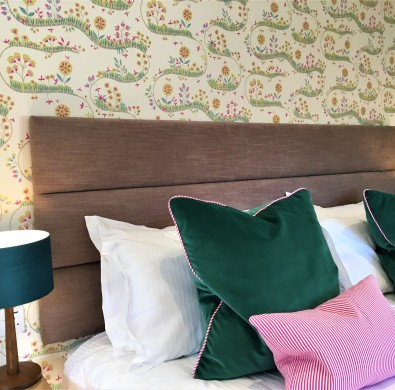 Boutique Windermere hotel bedroom interior