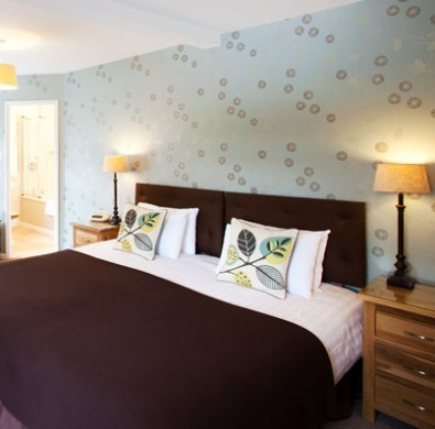 Bed in luxury hotel The Hideaway at Windermere