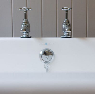 Victorian bathroom fittings at The Hideaway at Windermere Hotel
