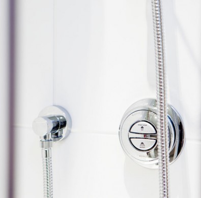 En-suite shower at Luxury Windermere hotel