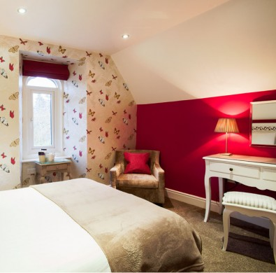 Interior of boutique suite at The Hideaway at Windermere