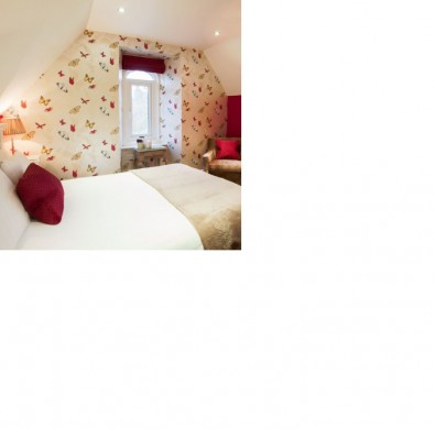Luxury B&B room at Windermere boutique hotel