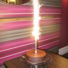 Truly Chocolate Birthday Cake