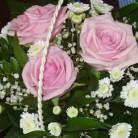 Basket of Fresh Flowers