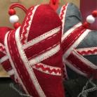 Union Jack Hearts (to take home!)